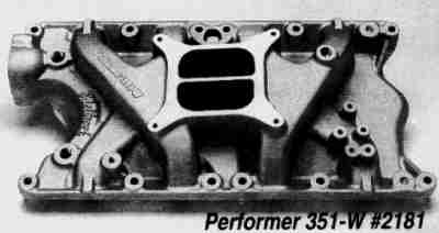 The Ford Small Block Intake FYI, version 00 12 18 created and